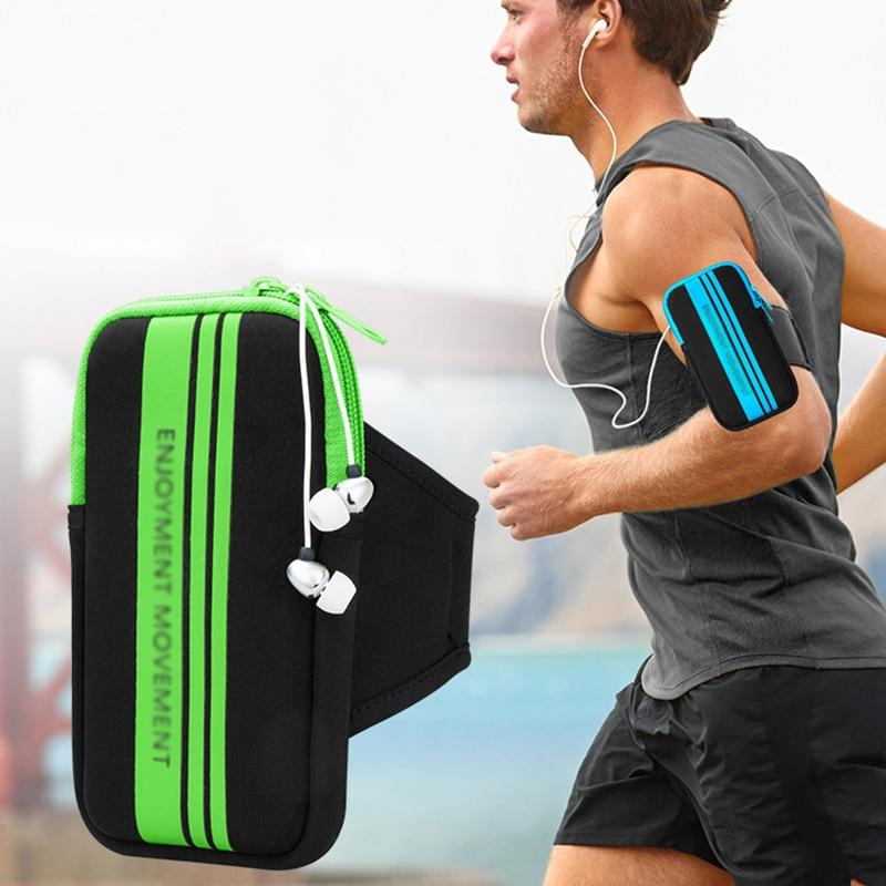 Для 5-5,5 дюймов для мобильного телефона, наручный ремешок для рук, чехол для спортзала, для занятий спортом на открытом воздухе, сумка для бег...