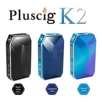 Pluscig K2 2900 мАч Заряженная поверхность циркония коробка мод электронная сигарета Vape наборы Совместимость с брендом нагрева табака Стик